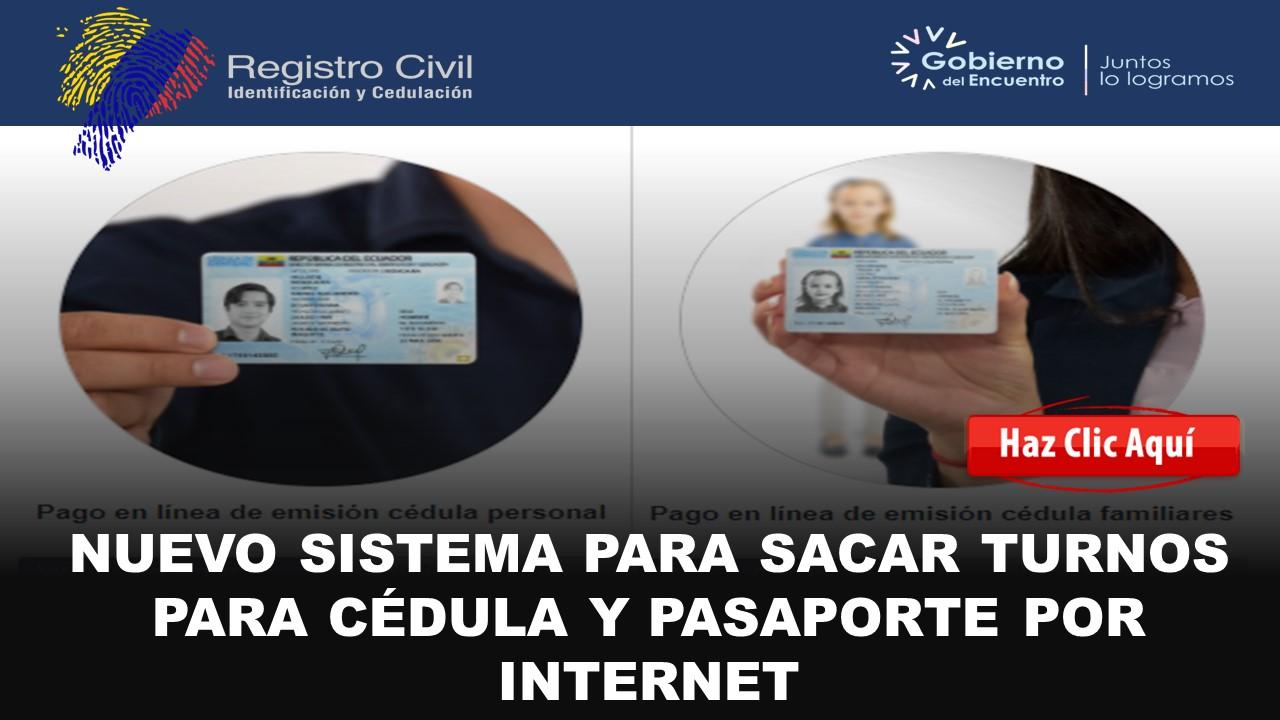 agendamiento de cédula y pasaporte